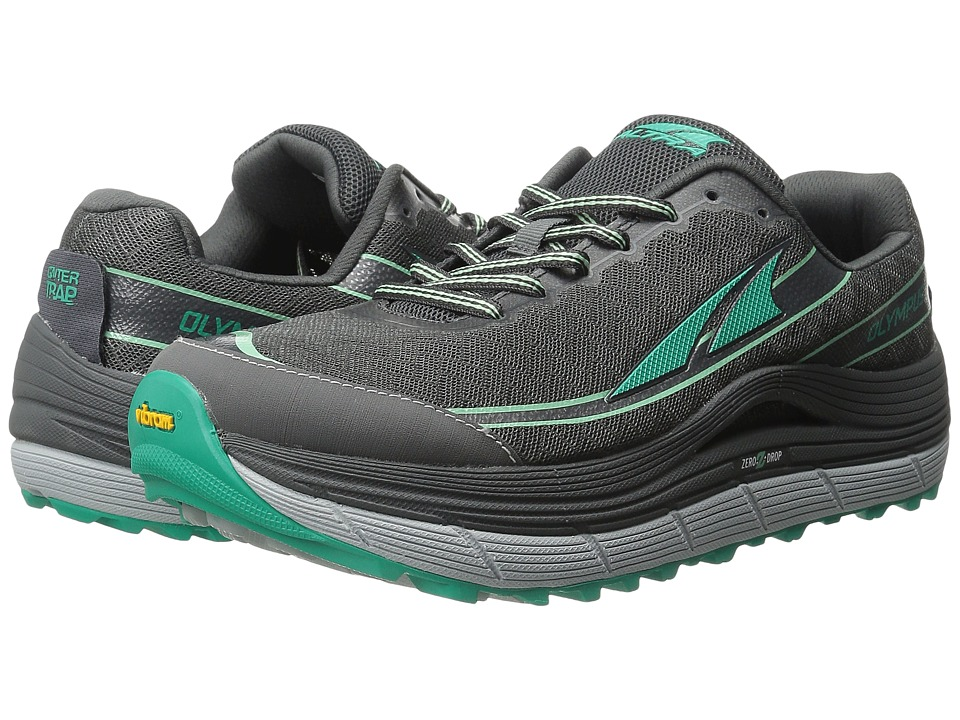 Altra Footwear Olympus 2 Charcoal/Peacock Womens Running Shoes