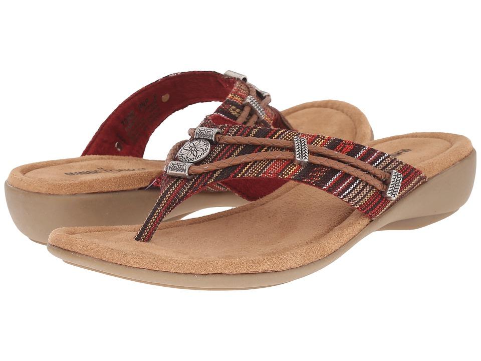 Minnetonka - Silverthorne (Nevada Print Fabric) Womens Flat Shoes