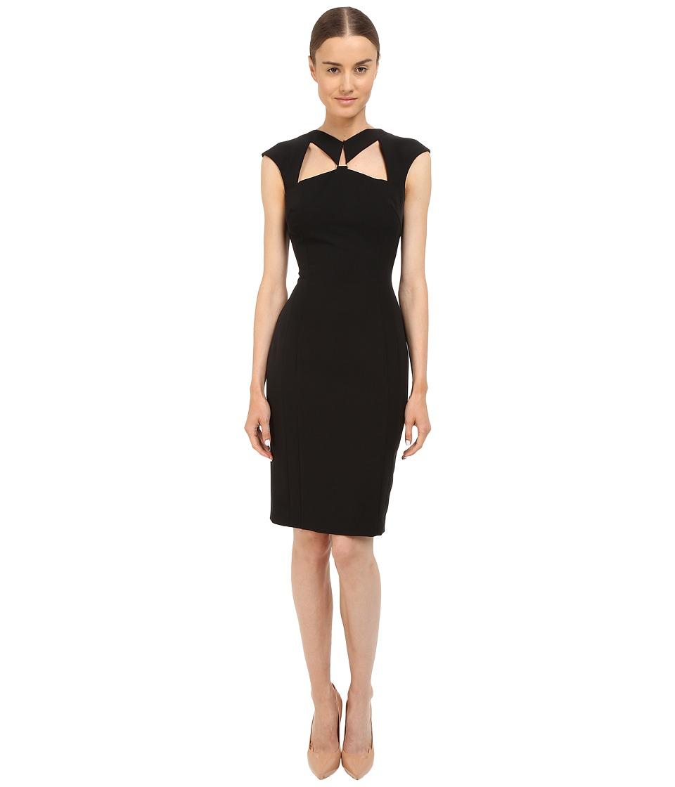 Versace Collection Cutout Dress Black Womens Dress