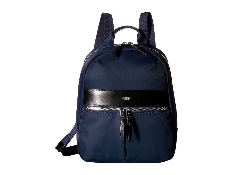 KNOMO London - Baby Beauchamp Mini Backpack (Navy) Backpack Bags