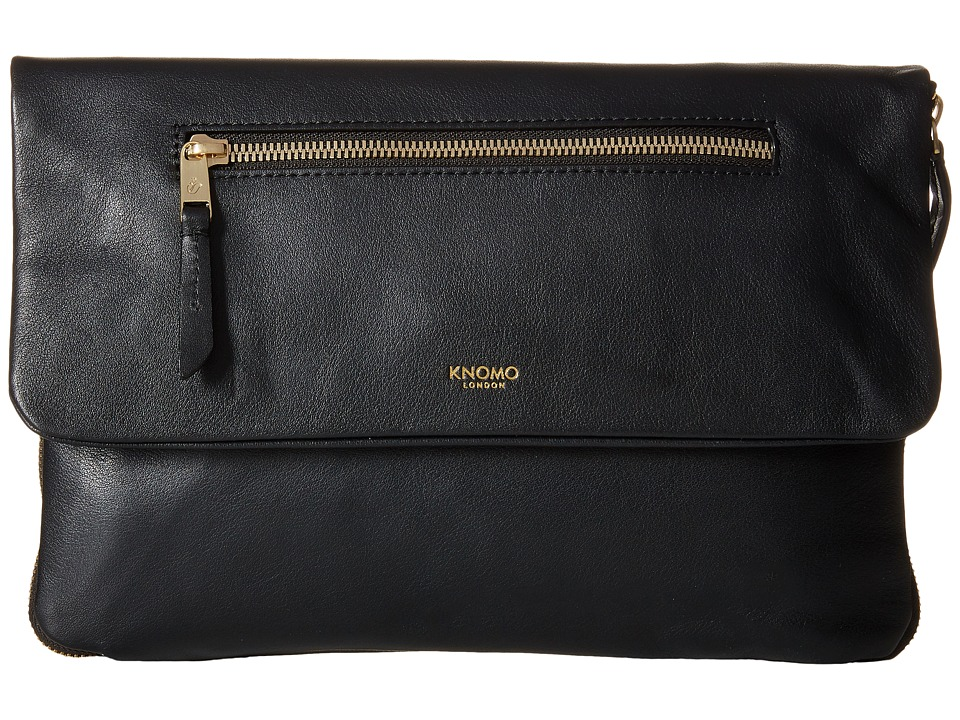KNOMO London - Elektronista Digital Clutch Bag (Black) Clutch Handbags