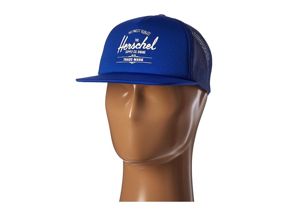 Herschel Supply Co. Whaler Mesh Cobalt Caps