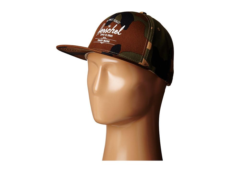 Herschel Supply Co. - Whaler (Woodland Camo) Caps