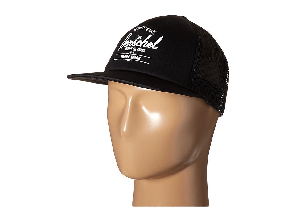 Herschel Supply Co. - Whaler Mesh (Black) Caps