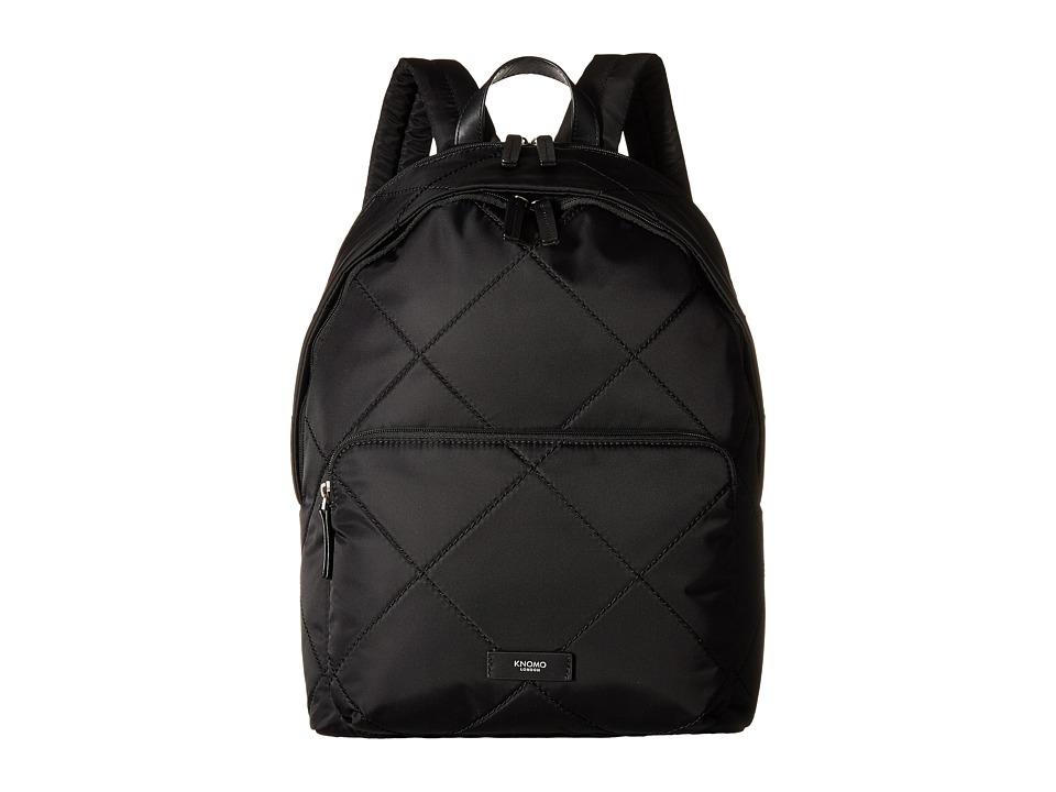 KNOMO London Bathurst Laptop Backpack Black Backpack Bags