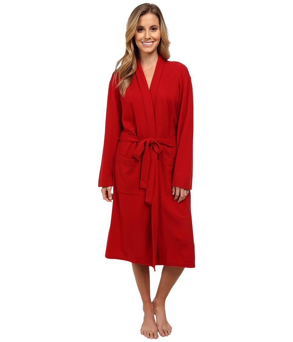 Tigi Hair Care Cashmere Robe (Red) Women's Robe