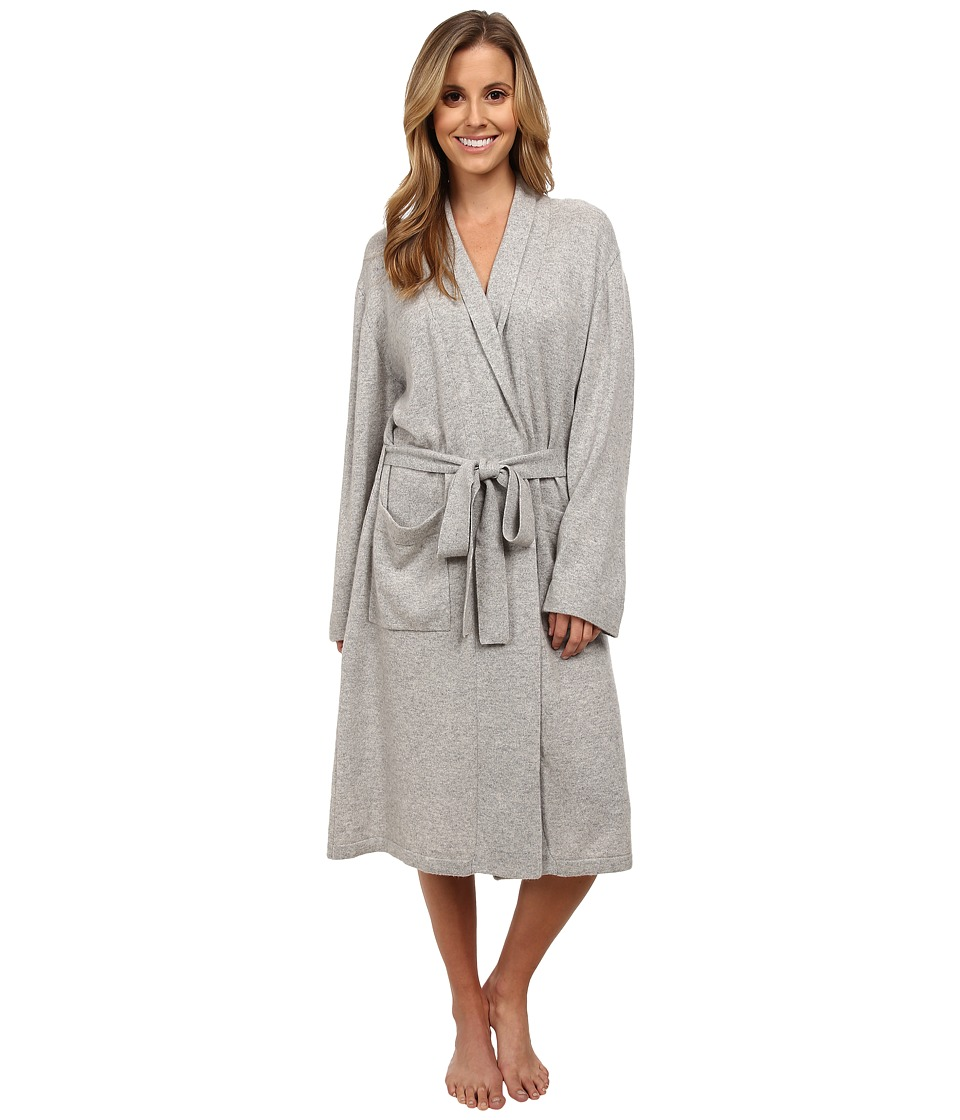 BedHead Cashmere Robe Heathered Grey Womens Robe