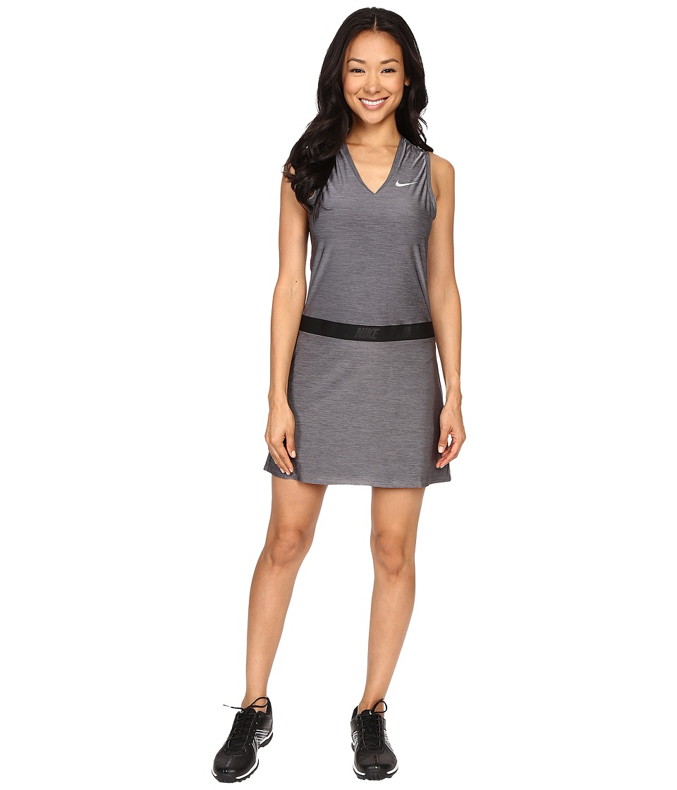 Nike Golf Ace Sleeveless Dress Dark Grey/Reflective Silver Womens Dress
