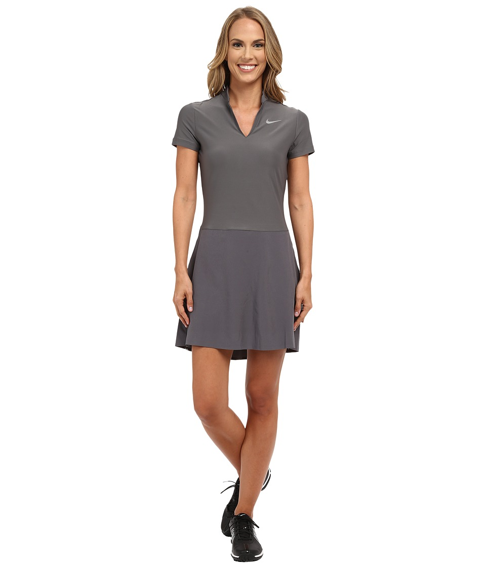 Nike Golf Ace Dress Dark Grey/Black/Reflective Silver Womens Dress