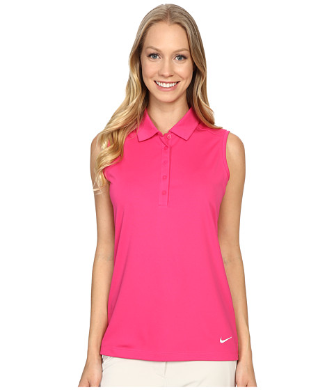 Nike Golf Victory Solid Sleeveless Polo
