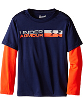Under Armour Kids - Metallic Wordmark Slider (Little Kids/Big Kids)