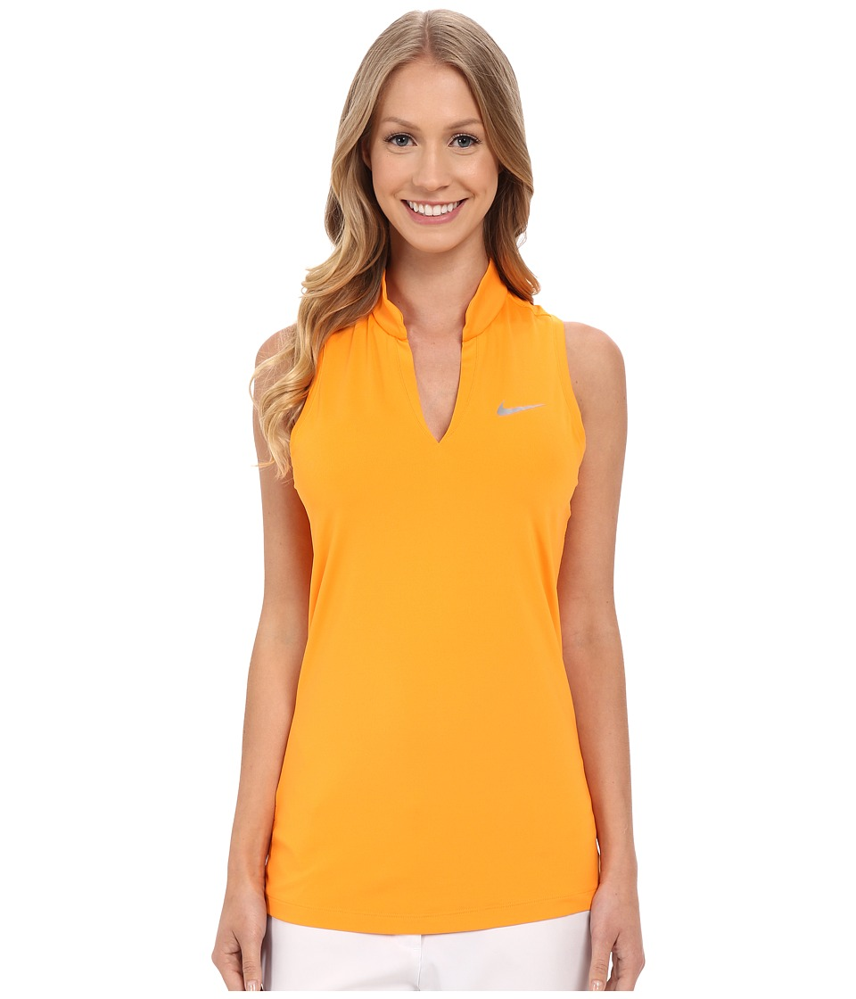 Nike Golf Ace Melt Away Racerback Vivid Orange/Reflective Silver Womens Sleeveless