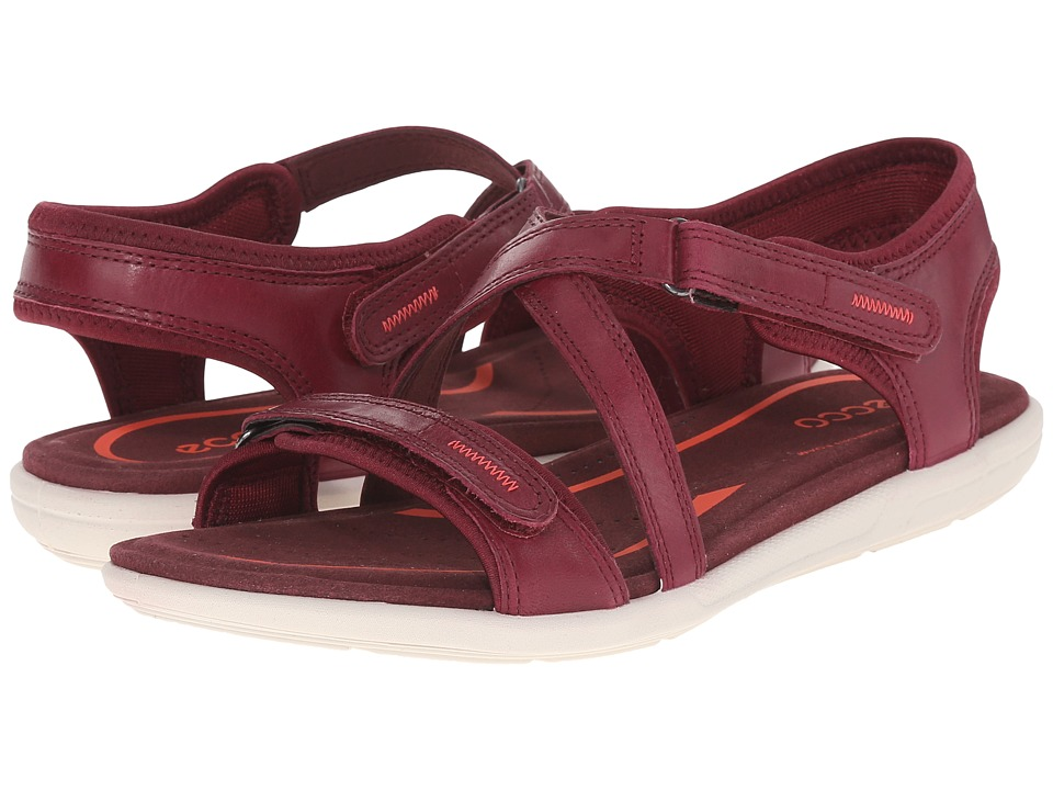 ECCO Bluma Strap Sandal Morillo Womens Sandals
