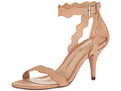 Chinese Laundry - Rubie Scalloped Sandal (Dark Nude Micro Suede)