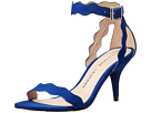 Chinese Laundry - Rubie Scalloped Sandal (Deep Ocean Blue Micro Suede)