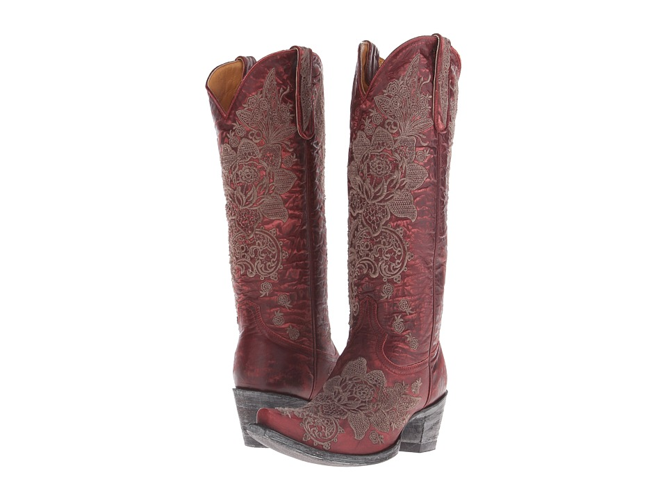 Old Gringo Nicolette (Red) Cowboy Boots