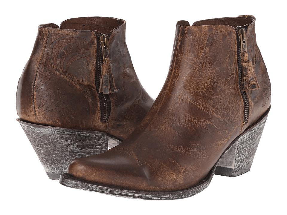 Old Gringo - Leona (Bone) Cowboy Boots