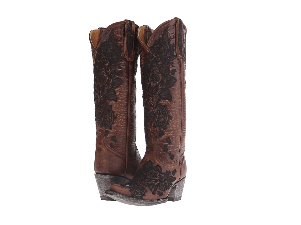 Old Gringo - Nicolette (Brass) Cowboy Boots