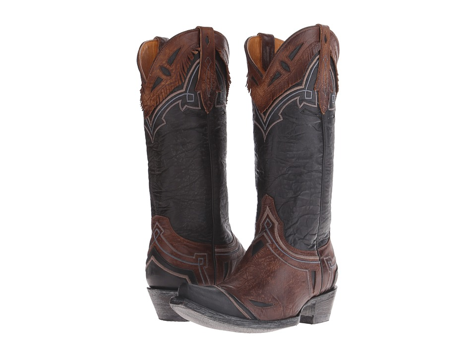 Old Gringo - Noseque (Brass/Black) Cowboy Boots
