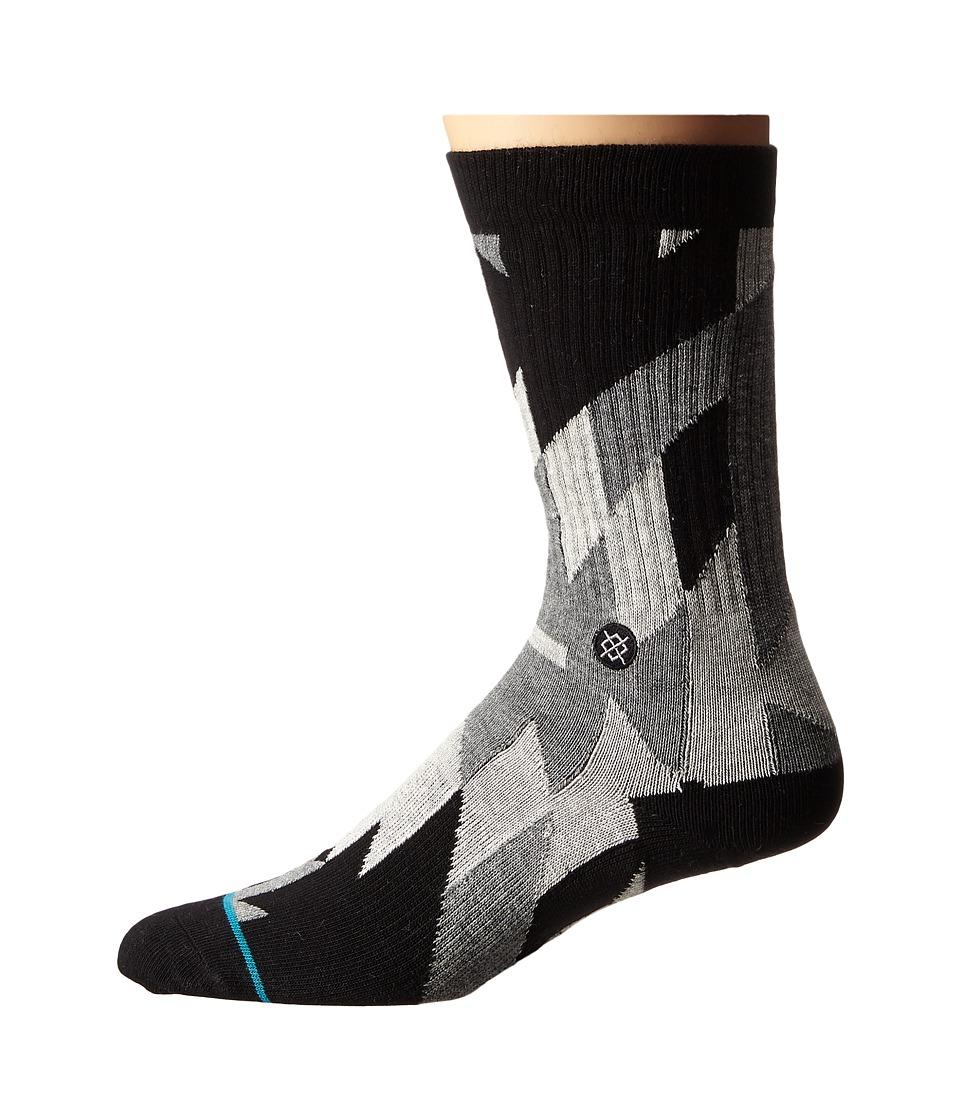 Stance Elite Grey Mens Crew Cut Socks Shoes