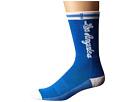 Image of Stance - Los Angeles Lakers (Blue) Men's Crew Cut Socks Shoes