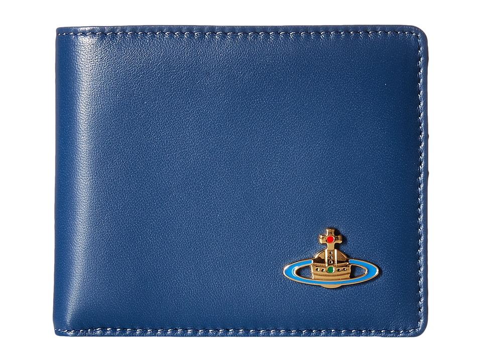 Vivienne Westwood - Nappa Wallet (Ocean) Wallet Handbags