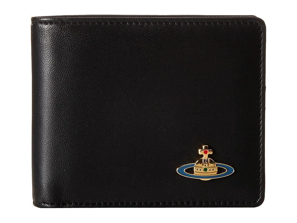 Vivienne Westwood - Nappa Wallet (Black) Wallet Handbags
