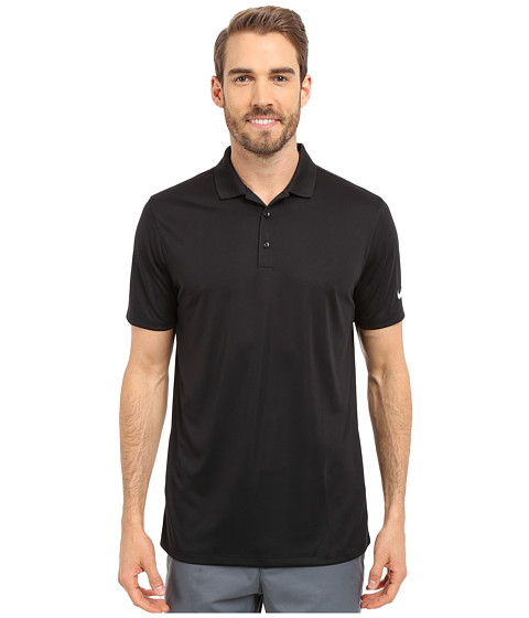 Nike Golf Victory Solid Polo - Black/White