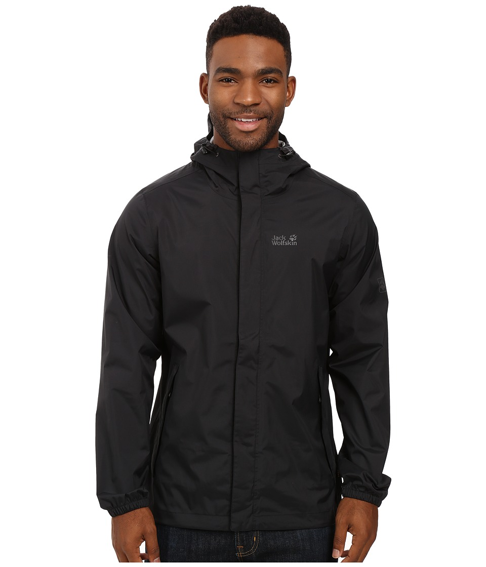 Jack Wolfskin Cloudburst Jacket (Black) Men