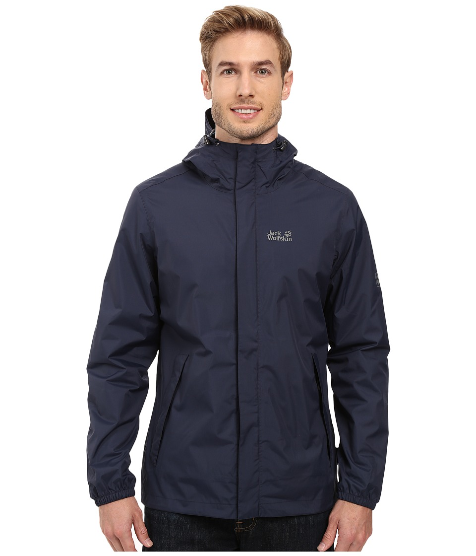 Jack Wolfskin Cloudburst Jacket (Night Blue) Men