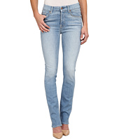 7 For All Mankind - High Waist Straight Jeans in Light Sky