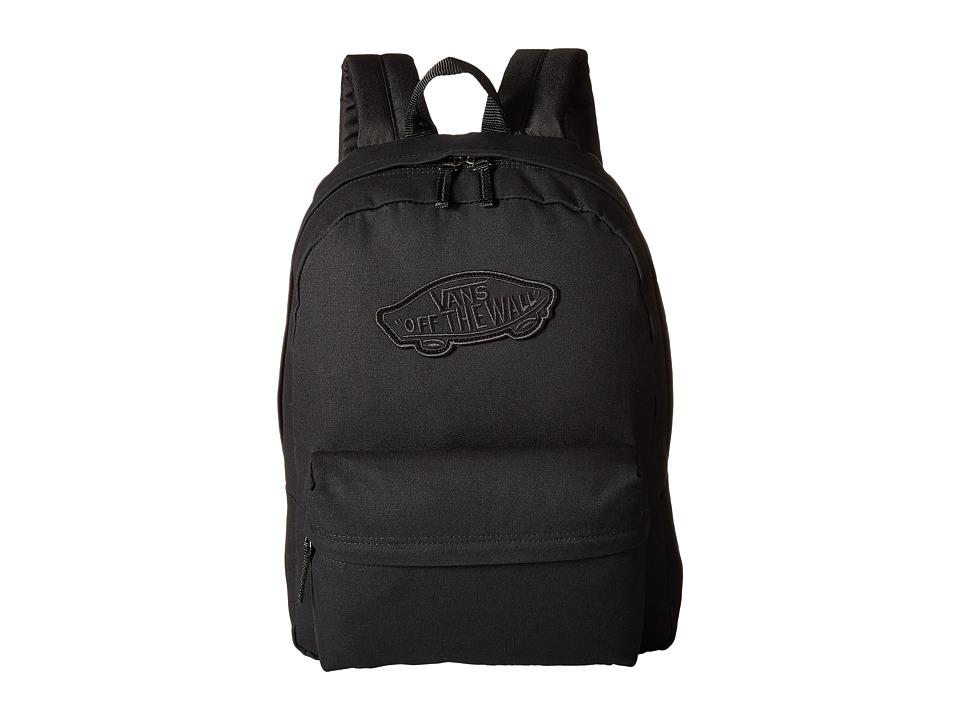 Vans - Realm Backpack (Onyx) Backpack Bags