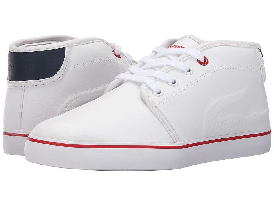 Lacoste Kids Ampthill 116 1 SP16 Little Kid White Kids Shoes