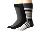 Cole Haan Cole Haan Multi-Striped Crew 3-Pack