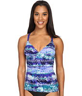 TYR - Emerald Lake Cascade Cross Tankini