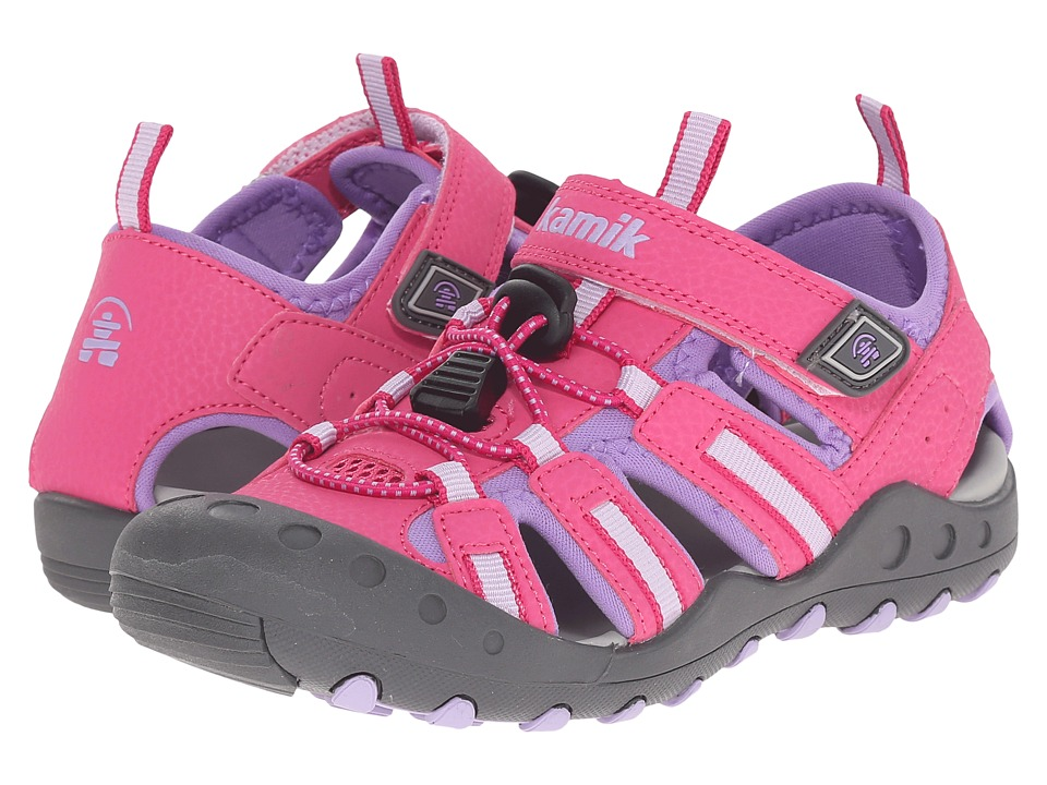 Kamik Kids Crab Toddler/Little Kid/Big Kid Fuchsia Girls Shoes