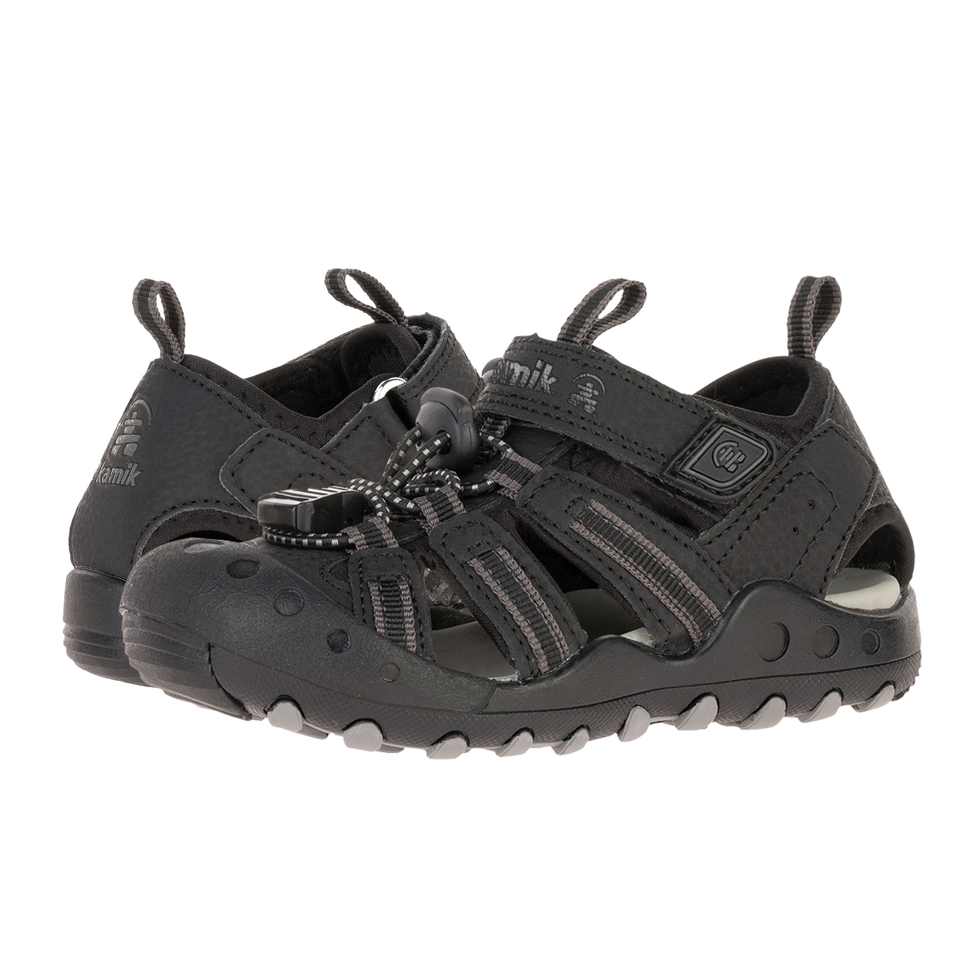Kamik Kids Crab Toddler/Little Kid/Big Kid Black Boys Shoes