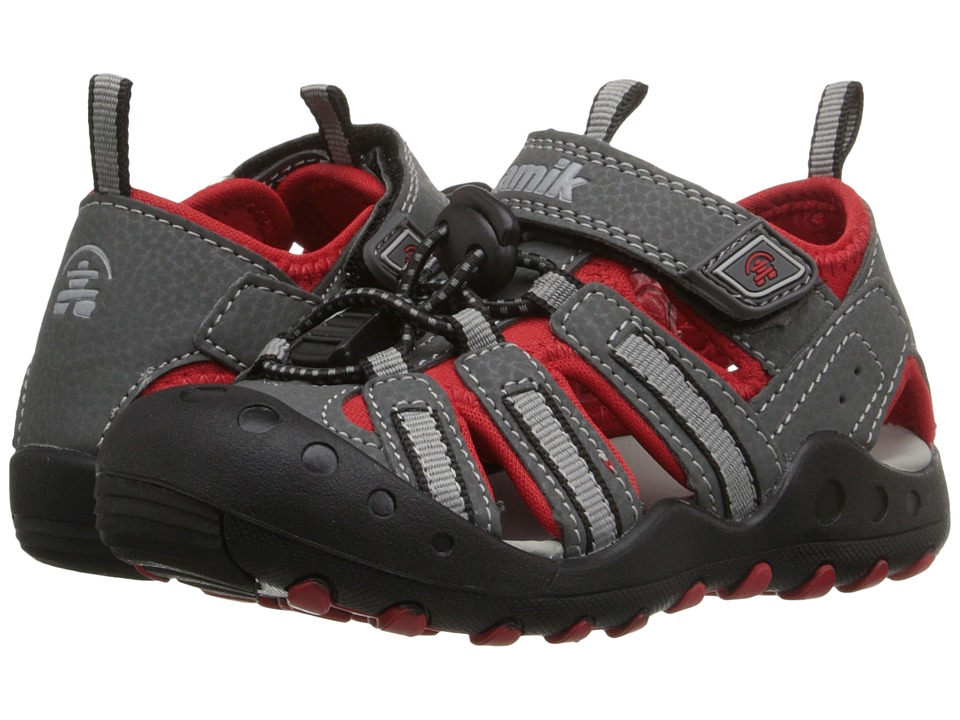 Kamik Kids Crab Toddler/Little Kid/Big Kid Charcoal Boys Shoes