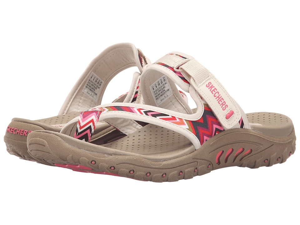 Skechers Reggae - Zig Swag (Natural) Women's Sandals