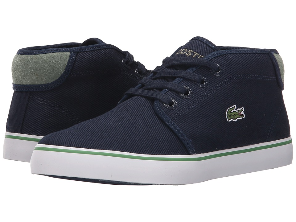 Lacoste Kids Ampthill 116 1 SP16 Little Kid Navy Kids Shoes