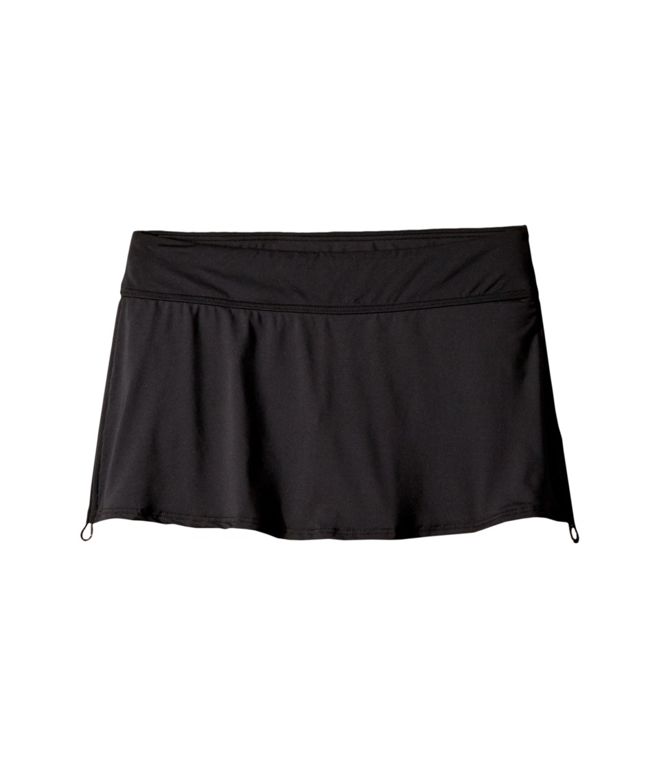 TYR Solids Active Mini Skorts (Black)