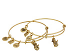 Alex and Ani Alex and Ani Charity by Design Side by Side Set of 2 Expandable Wire Bangles