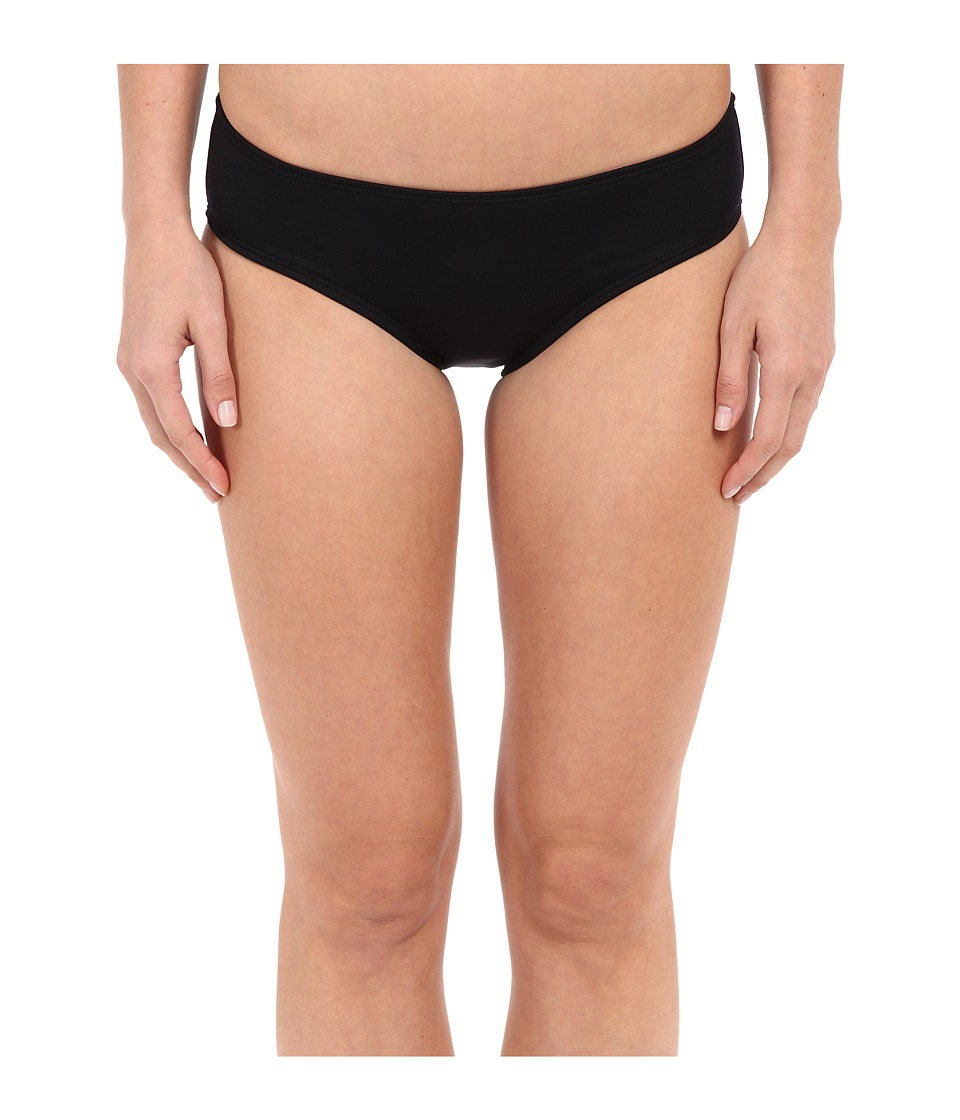 TYR Mid Rise Bottom (Black) Women