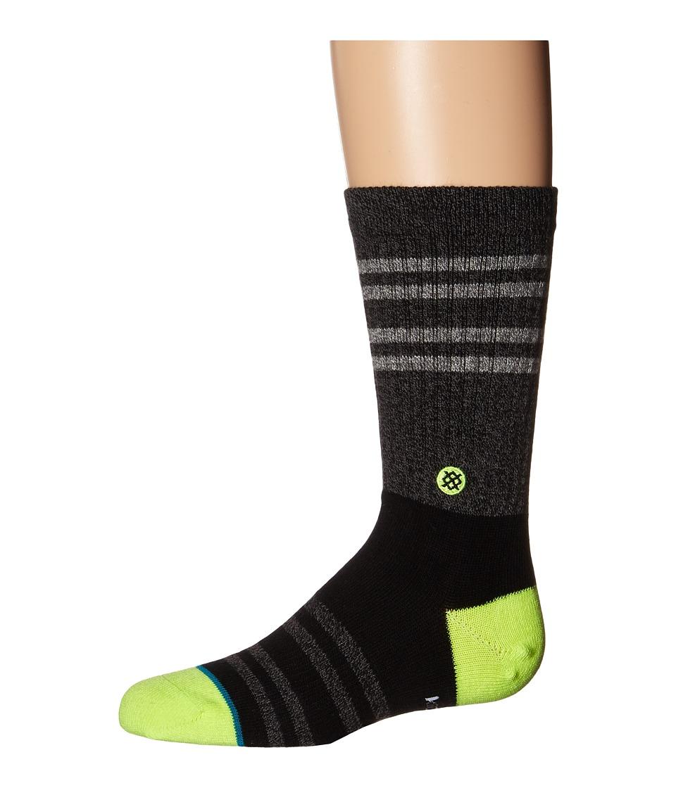 Stance Falcon Toddler/Little Kid/Big Kid Black Mens Crew Cut Socks Shoes