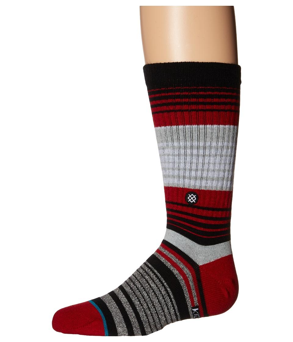 Stance Cardinal Toddler/Little Kid/Big Kid Red Mens Crew Cut Socks Shoes