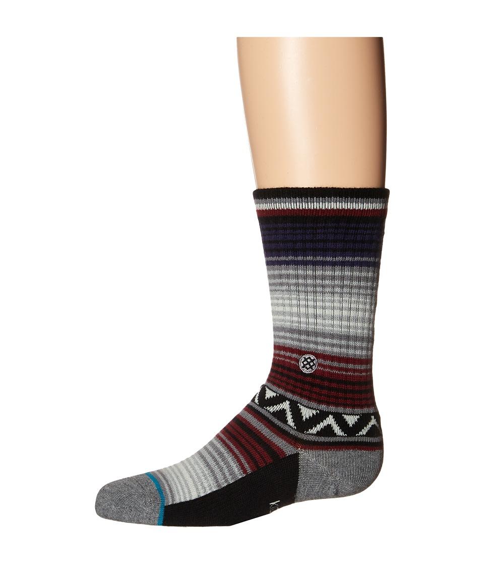 Stance Entitlement Toddler/Little Kid/Big Kid Maroon Mens Crew Cut Socks Shoes