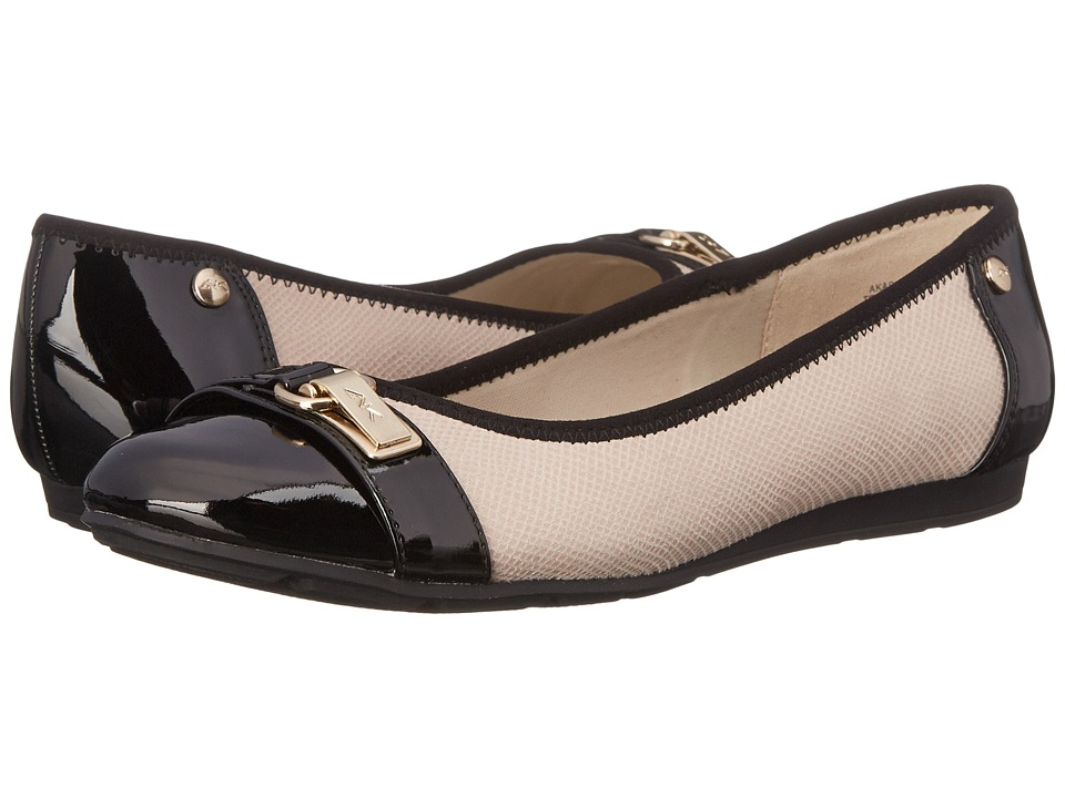 Anne Klein Able Ivory Multi Fabric Womens Slip on Shoes