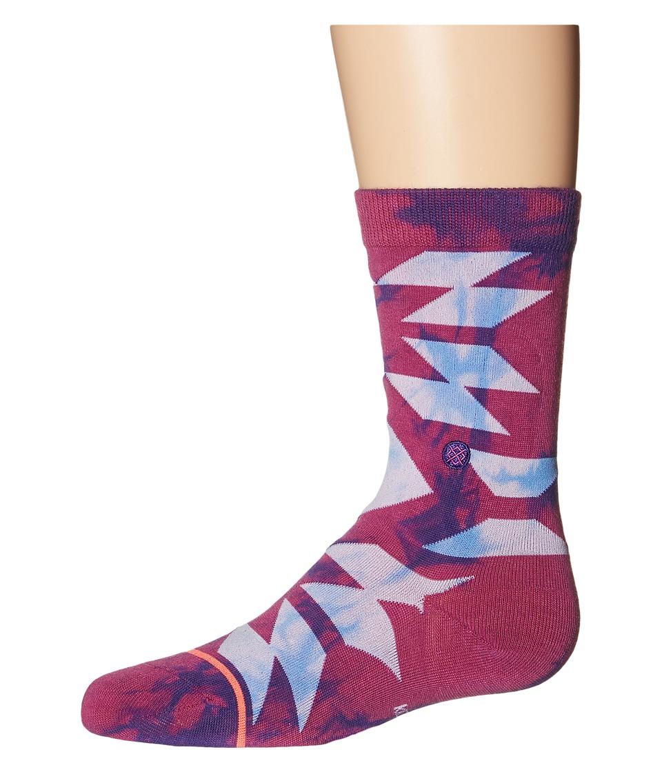 Stance Recess Toddler/Little Kid/Big Kid Purple Womens Crew Cut Socks Shoes