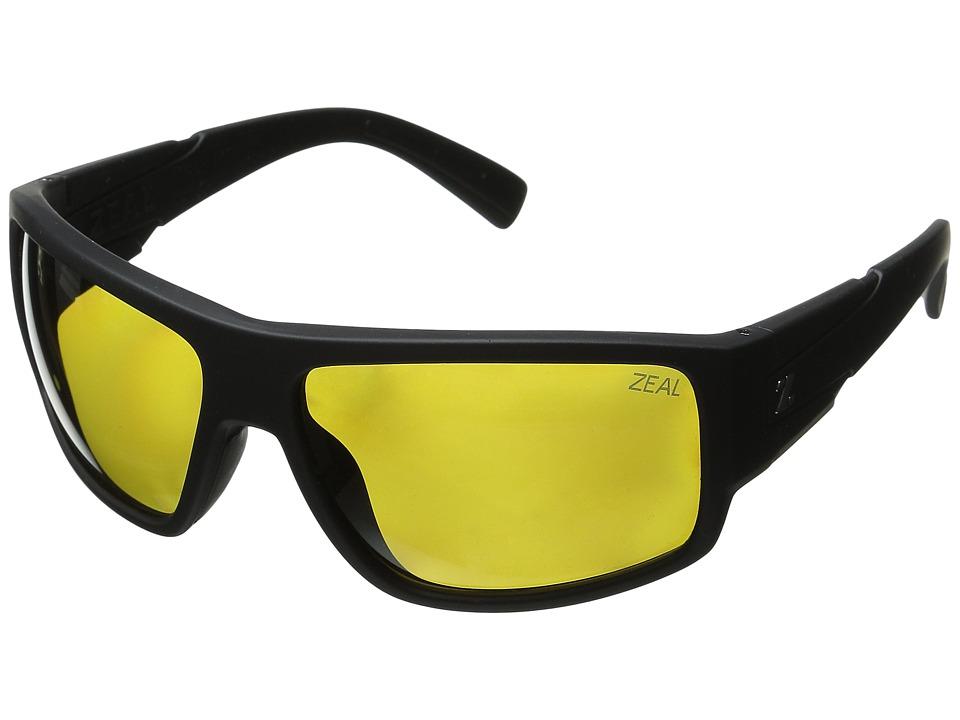Zeal Optics Big Timber Matte Black/Polarized Auto Lens Sport Sunglasses