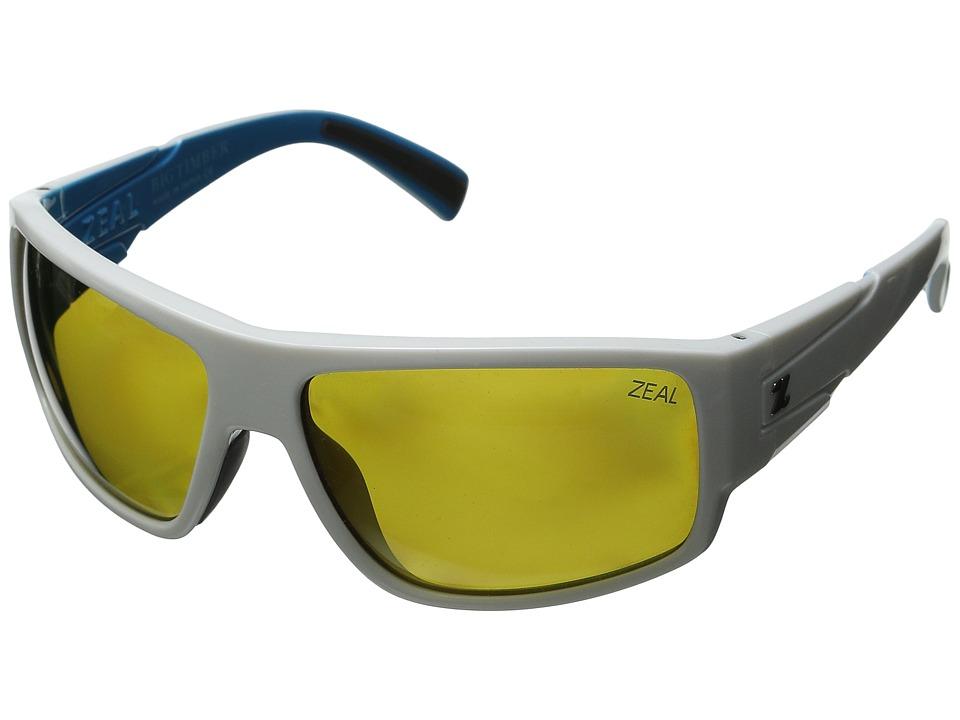 Zeal Optics Big Timber White Caps/Polarized Auto Lens Sport Sunglasses